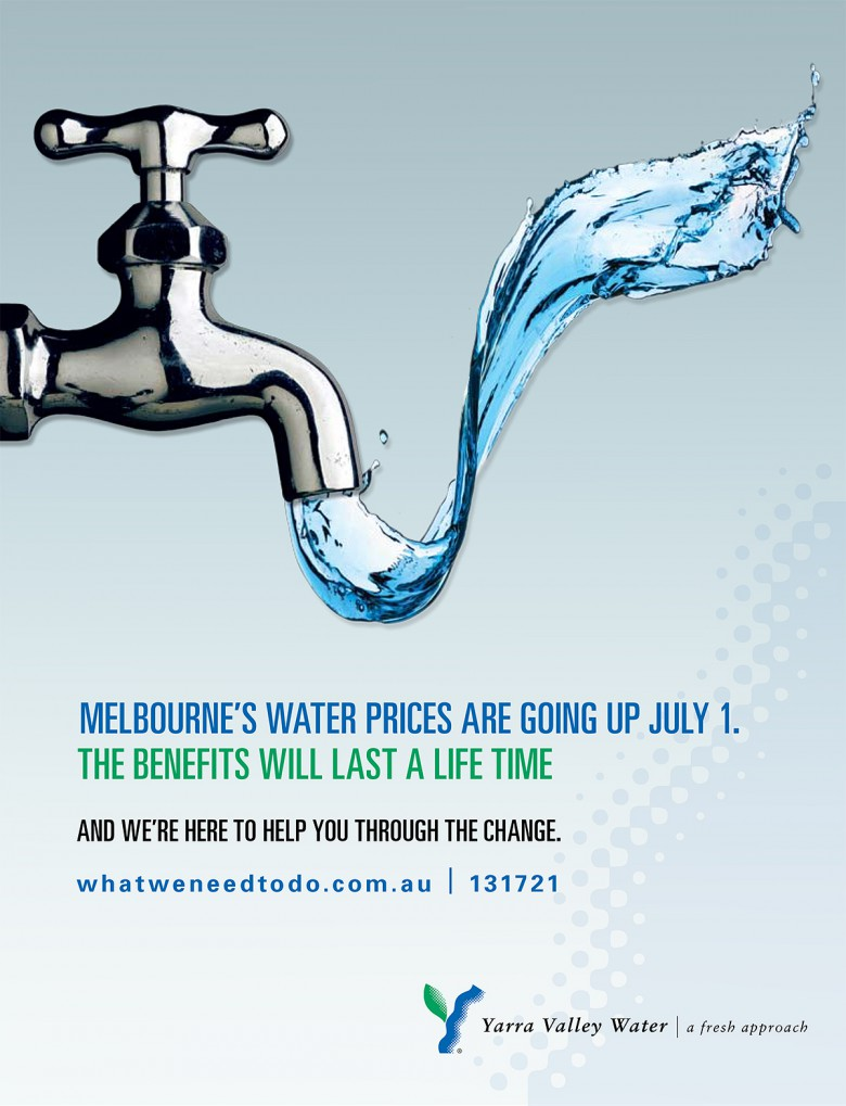 Yarra Valley Water Ad Image