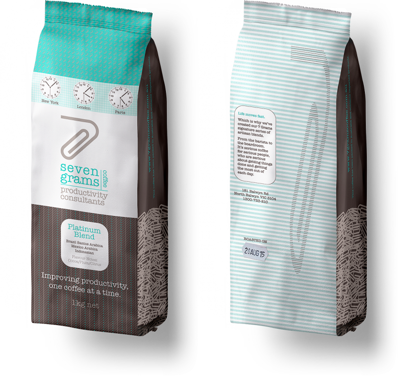 Seven Grams Coffee Bag Image