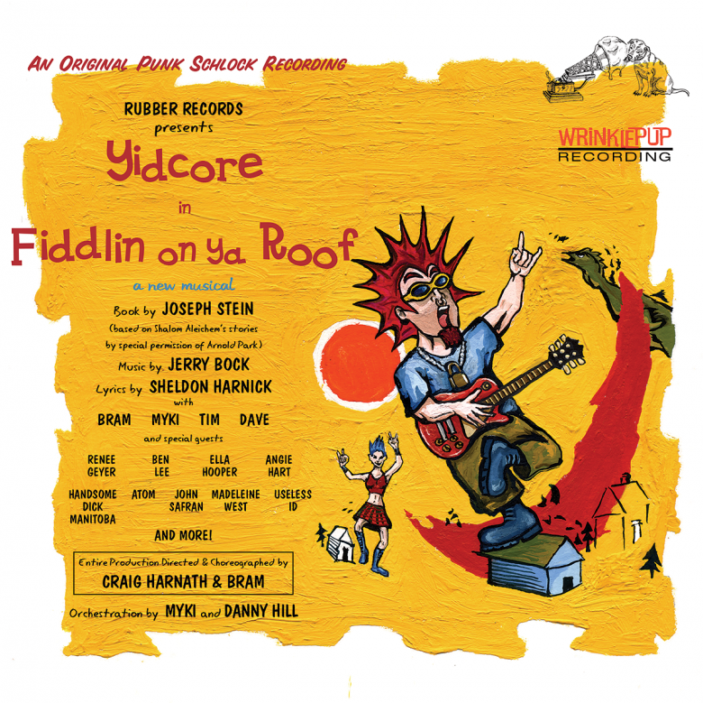 Yidcore – Fiddlin' On Ya Roof Image