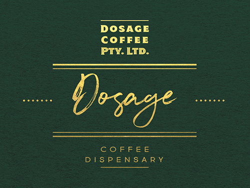 Dosage Coffee Logo
