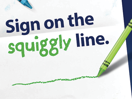 Debitsuccess – Squiggly Line